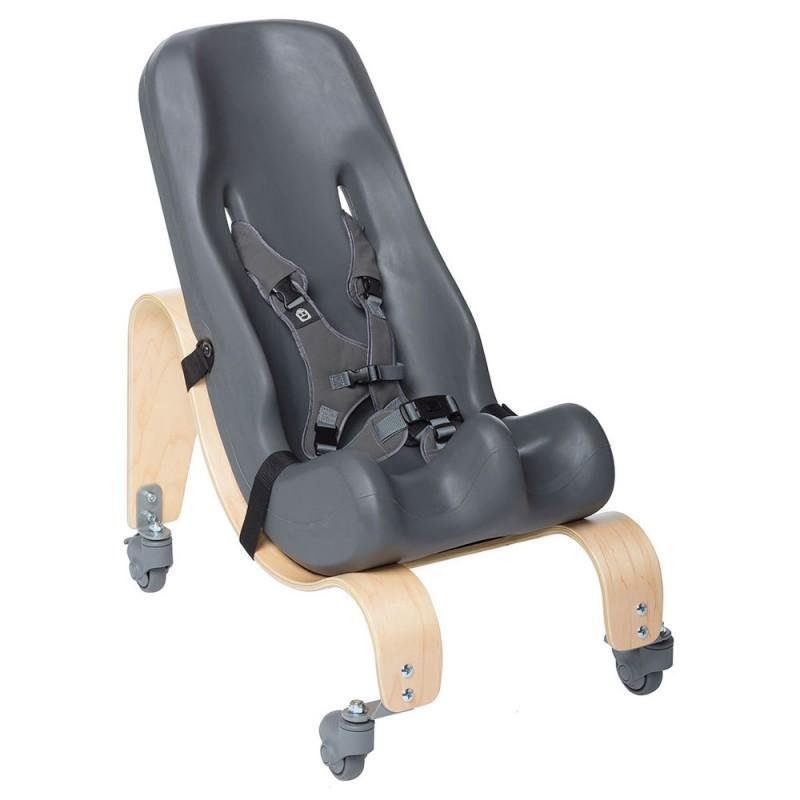 Special Tomato Sitter Seat Κάθισμα με τροχήλατη ξύλινη βάση