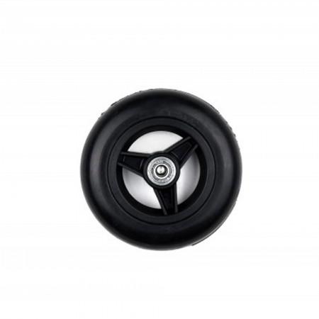 """125x32mm 5"""" τροχός πλαστικός μαύρος"""