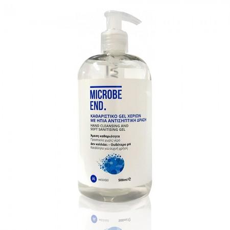 Microbe End Αντισηπτικό gel χεριών, 500ml