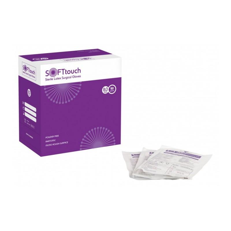 Soft Χειρουργικά γάντια χωρίς πούδρα 8,8 grams