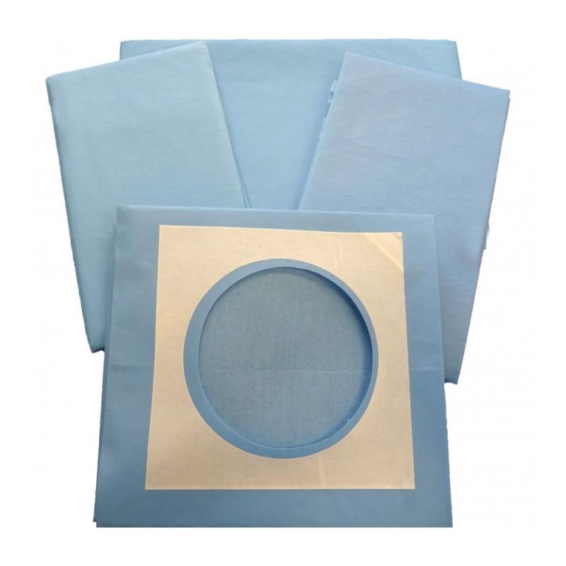 Soft Χειρουργικά πεδία με οπή, 50cm x 75cm