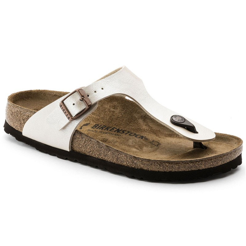 Birkenstock Gizeh Παντόφλα, Pearl White