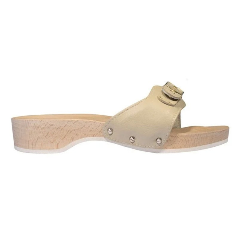 Scholl Pescura Heel Original F238681056 Παντόφλα, Sand