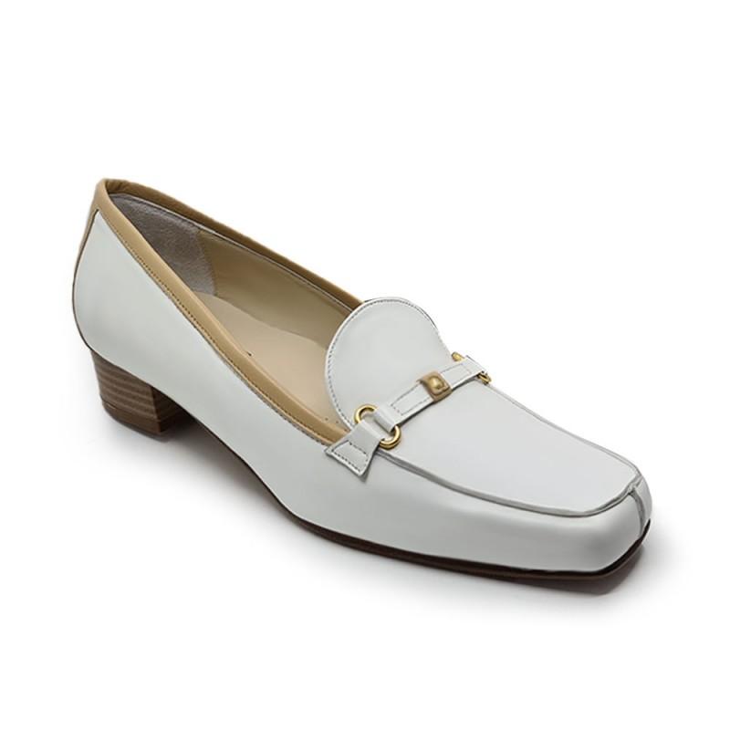 Lady Comfort 4024 Γυναικεία comfort μοκασίνια, Λευκό