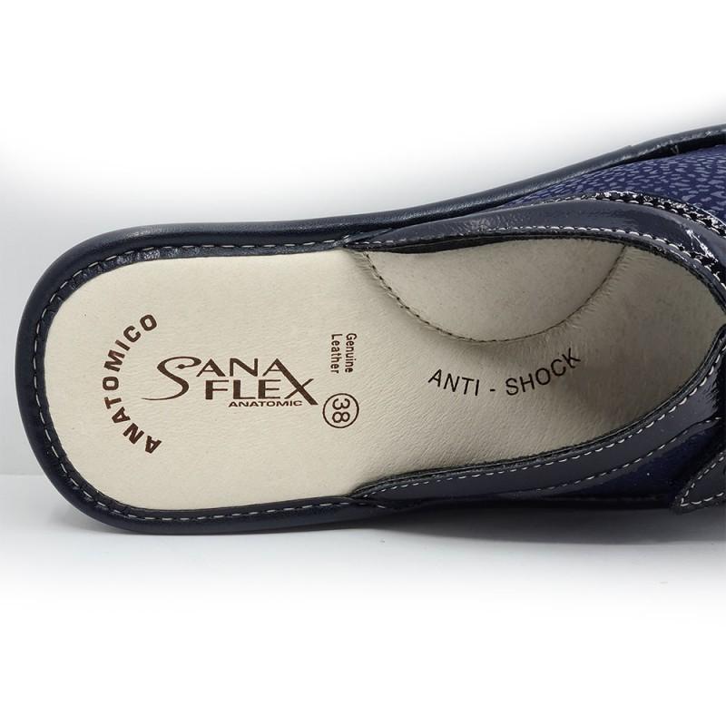 Sanaflex 70 Γυναικεία παντόφλα, Μπλέ