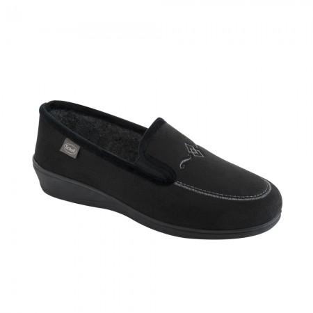 Scholl Tiguana F259841004 Γυναικείο comfort υπόδημα, Μαύρο