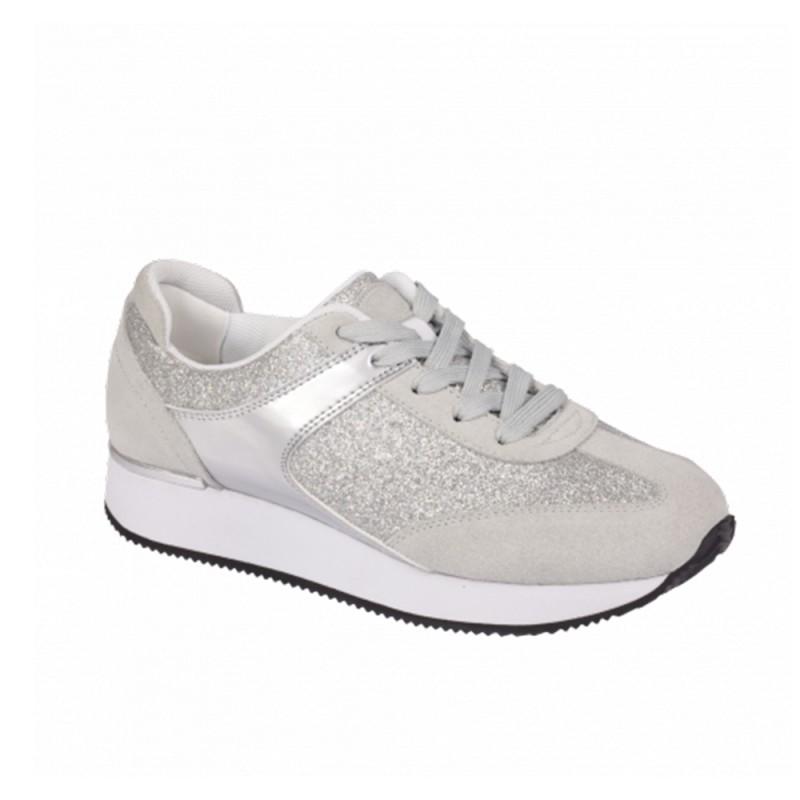 Scholl Charlize F270171057 Γυναικεία sneakers, Ασημί