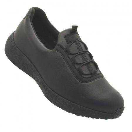 Emanuele 6394 Γυναικεία sneakers, Μαύρο