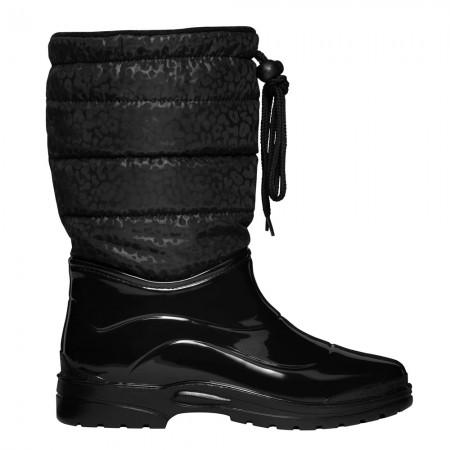 Scholl New Vestmann F276272277 Γυναικείες μπότες, Black leopard