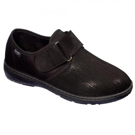 Scholl Odette Rei F276911004 Γυναικείο comfort υπόδημα, Μαύρο