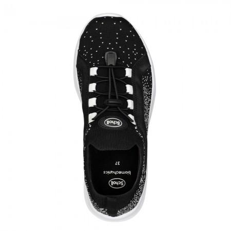 Scholl Saturn F291281004 Γυναικεία sneakers, Μαύρο