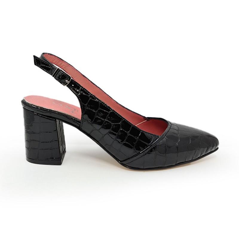 Coquet 17212 Γυναικείο Πέδιλο, Μαύρο