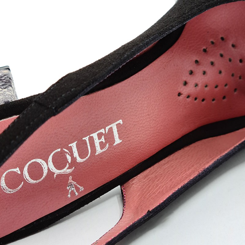 Coquet 5571 Γυναικείο Πέδιλο, Μαύρο