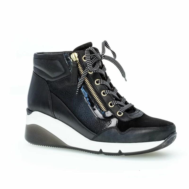 Gabor Γυναικεία sneakers, Μαύρο