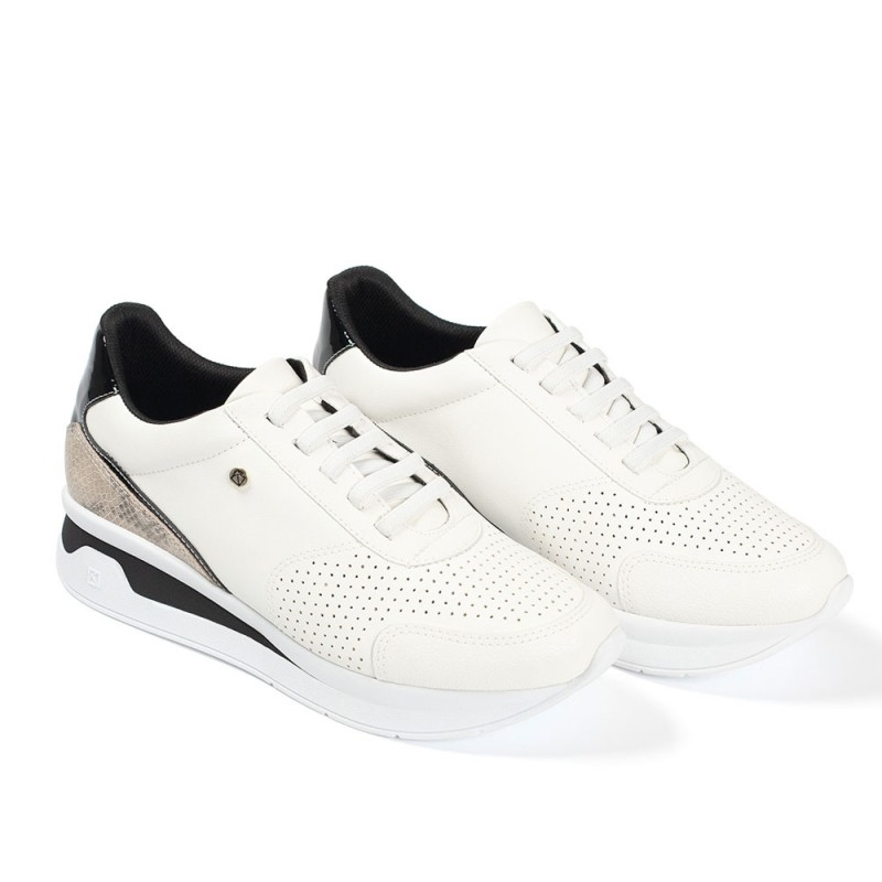 Piccadilly Jessica Γυναικεία sneakers, Λευκό