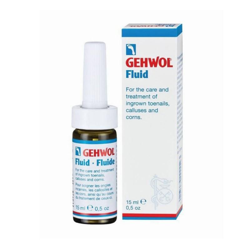 Gehwol Fluid καταπραϋντικό & απολυμαντικό υγρό για ερεθισμένους κάλους & παρωνυχίδες 15ml