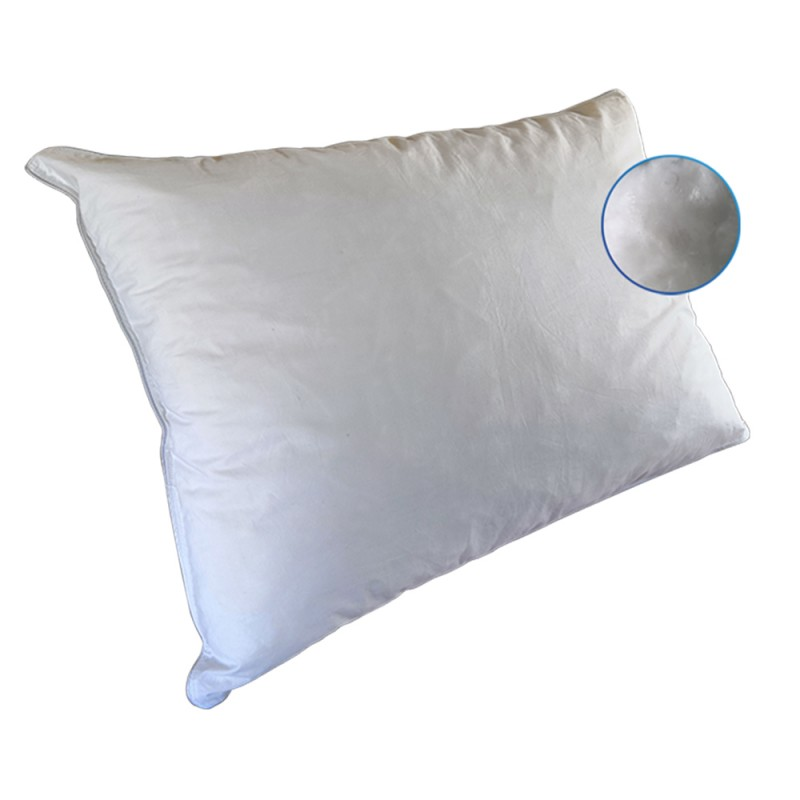 AMBE Comfort Ανατομικό μαξιλάρι με νιφάδες Πολυεστερικής ίνας 7D