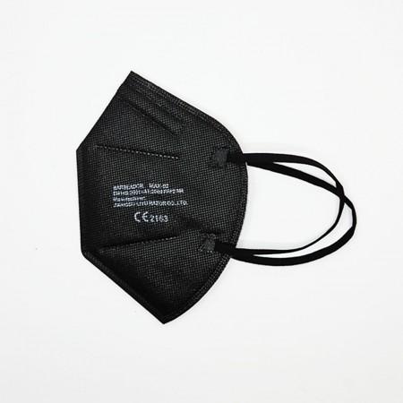 Protective Masks FFP2 Μάσκες ενηλίκων, Μαύρο, 1τεμ.