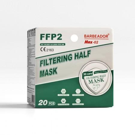 Barbeador FFP2 ΚΝ95 Μάσκες παιδικές, 20τεμ.