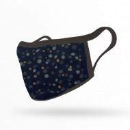 Υφασμάτινη μάσκα ενηλίκων πολλαπλών χρήσεων σε διάφορα σχέδια, one size, 100% βαμβάκι