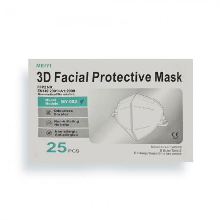 FFP2 NR Μάσκες ενηλίκων, 25τεμ.