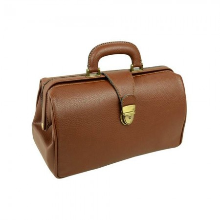 Gima 27110 Texas δερμάτινη τσάντα ιατρού καφέ