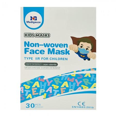 Medigauze Παιδικές μάσκες μιας χρήσης, 30τεμ.