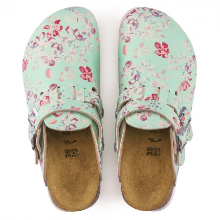 Birkenstock Kay SL Birko-Flor σαμπό, Flower field mint