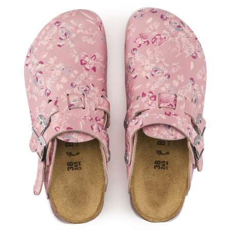 Birkenstock Kay SL Birko-Flor σαμπό, Flower field rose