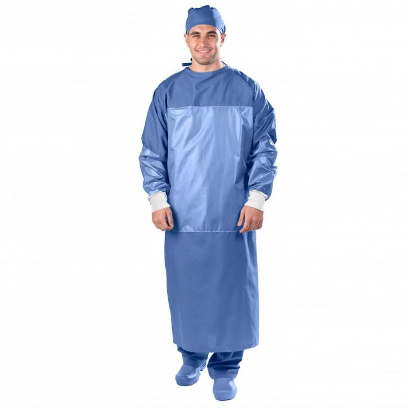 ANTA 955 Unisex Μπλούζα χειρουργείου (Πράσινο, Μπλέ)