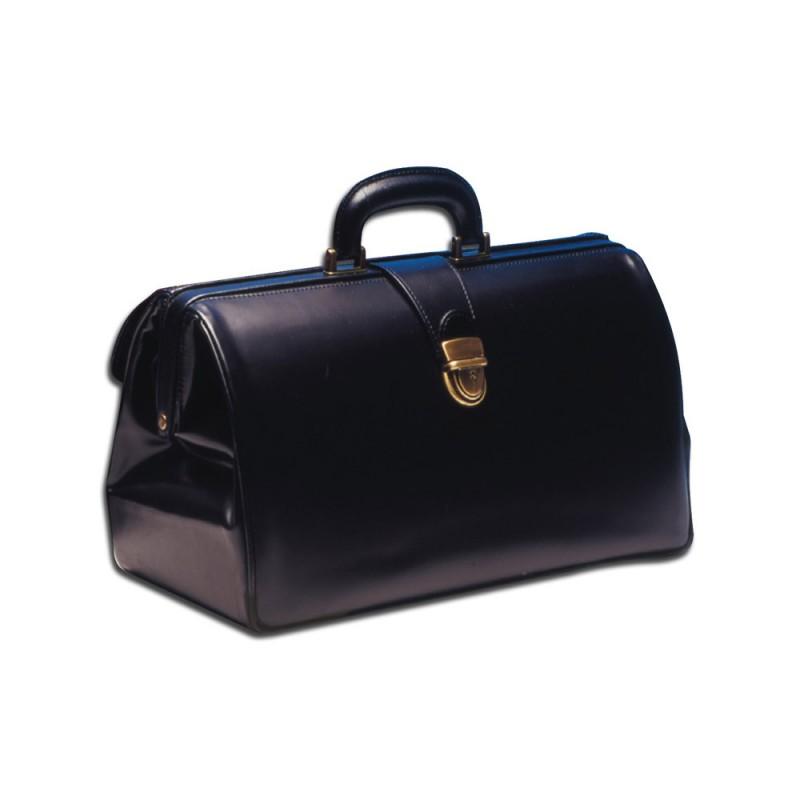 Gima 27115 Super Texas δερμάτινη τσάντα ιατρού μαύρη