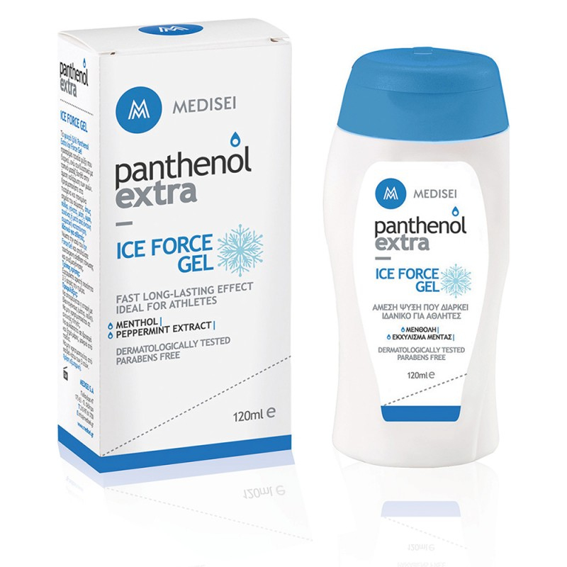 Panthenol Extra Ice Force Gel, 120ml