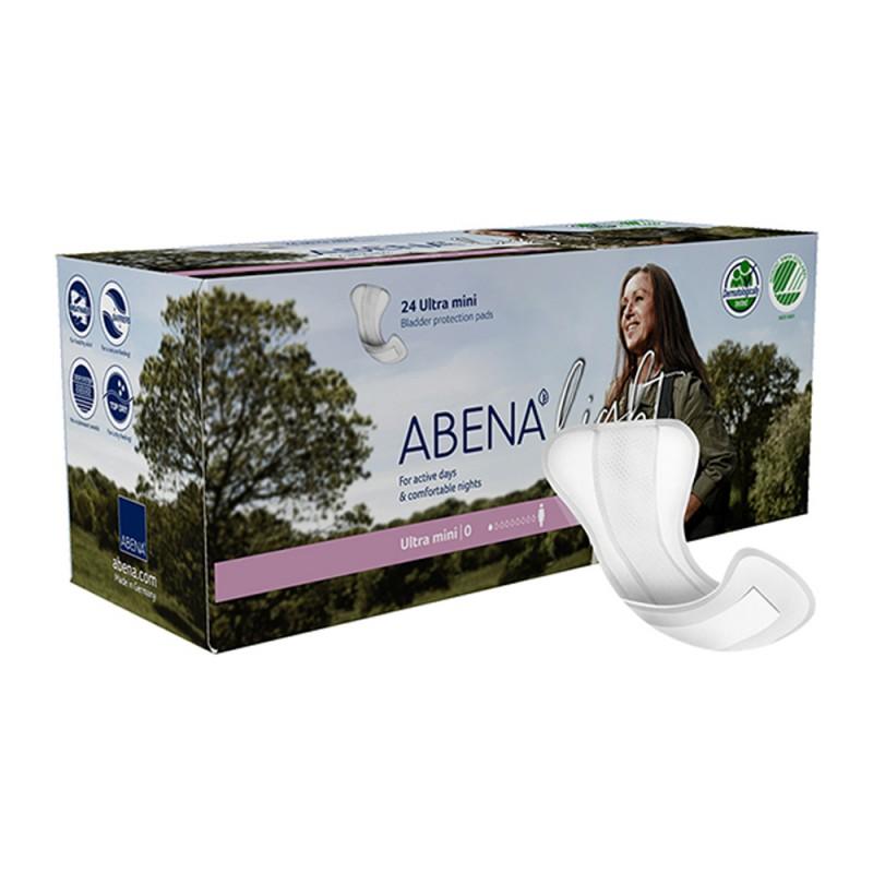 Abena Light Σερβιέτα, No0 Ultra Mini, 24τεμ.