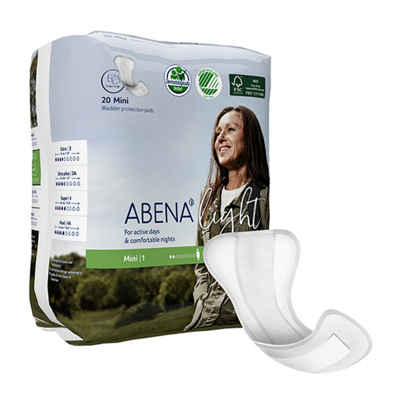 Abena Light Σερβιέτα, No1 Mini, 20τεμ.