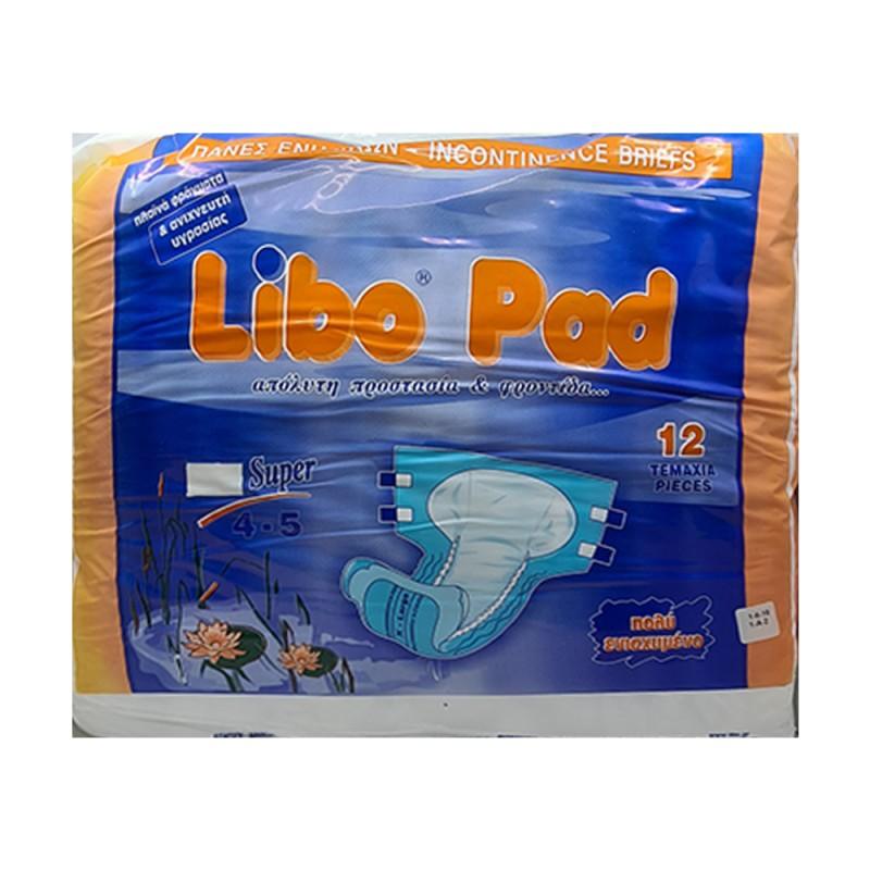 Libo Pad Super Πάνα, XL 4-5, 12τεμ.
