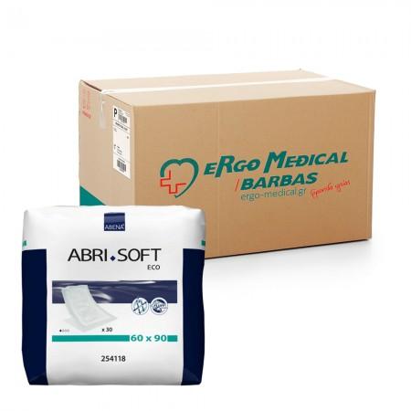 Abena Abri-Soft Eco Υποσέντονο, Οικονομική συσκευασία, 60x90cm, 4x30τεμ.