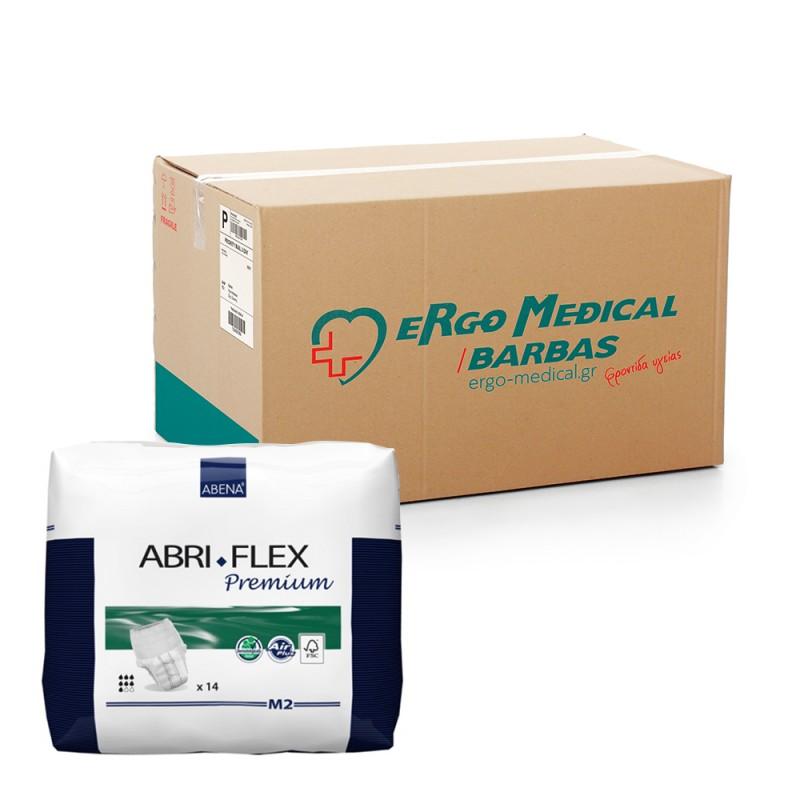 Abena Abri-Flex Βρακάκι ημέρας, Οικονομική συσκευασία, 2 Medium, 6x14τεμ.