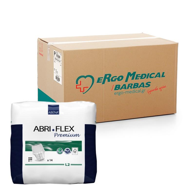 Abena Abri-Flex Βρακάκι ημέρας, Οικονομική συσκευασία, 2 Large, 6x14τεμ.