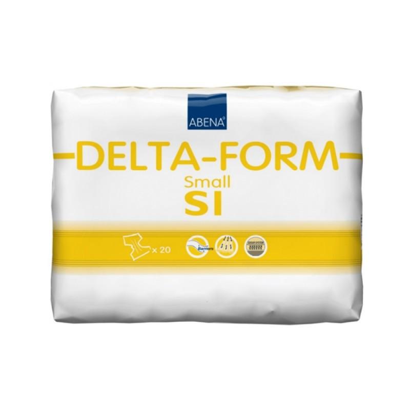 Abena Delta-Form Πάνα ημέρας, 1 Small, 20τεμ.