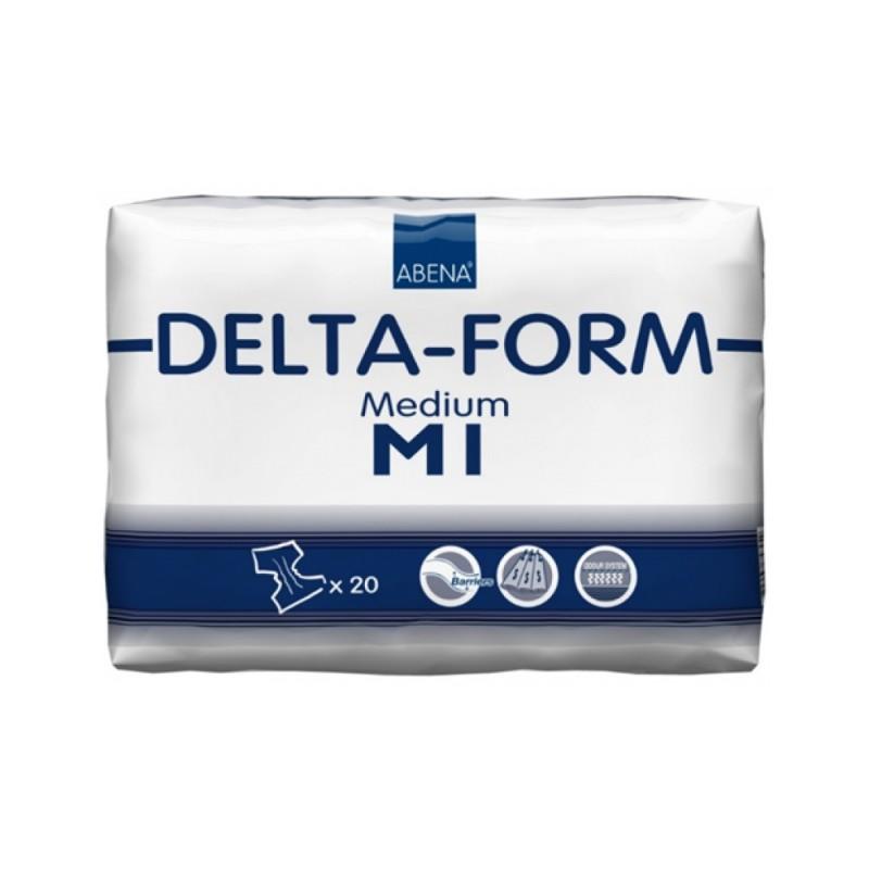 Abena Delta-Form Πάνα ημέρας, 1 Medium, 20τεμ.
