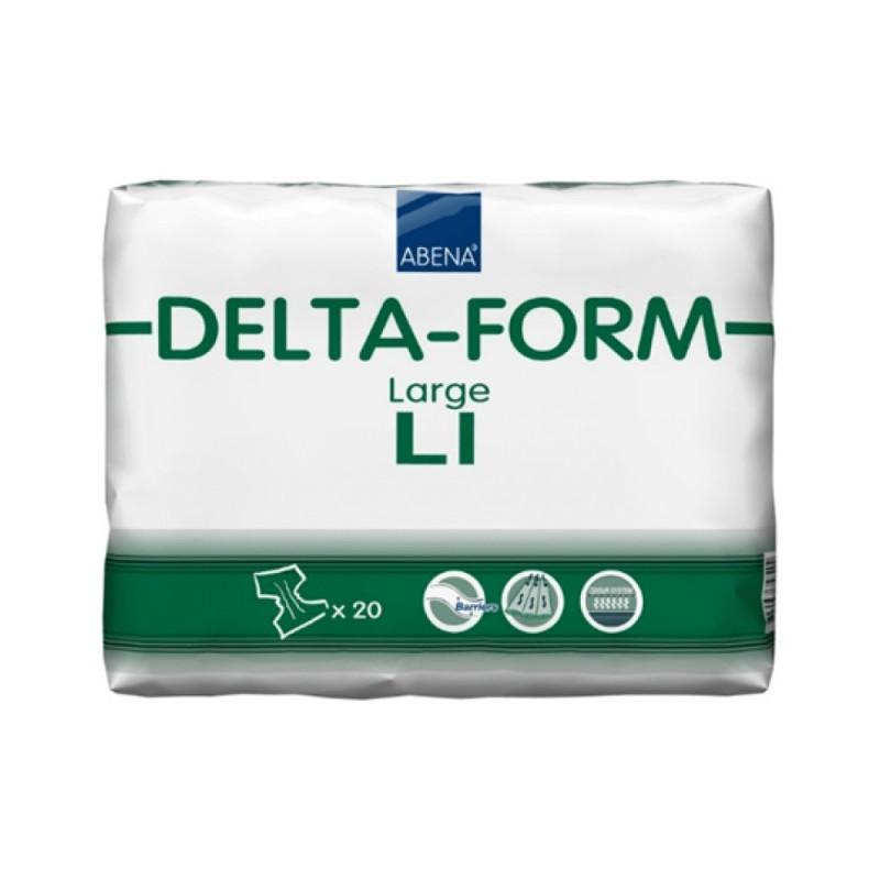 Abena Delta-Form Πάνα ημέρας, 1 Large, 20τεμ.