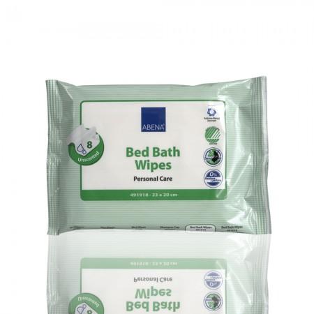 Abena Μαντηλάκια καθαρισμού, μπάνιο χωρίς νερό 20x23 cm, 8τεμ.