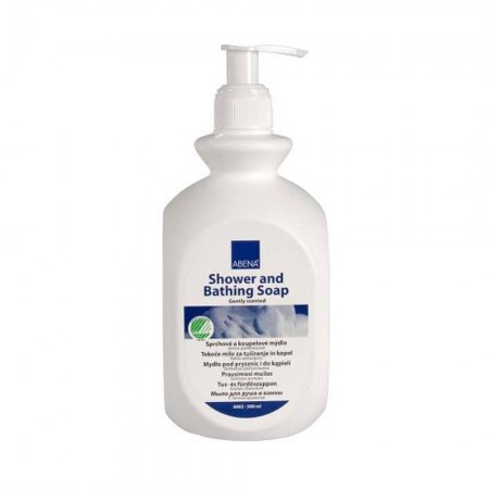 Abena Υγρό σαπούνι για σώμα & μαλλιά χωρίς χρωστικές, με άρωμα, 500ml
