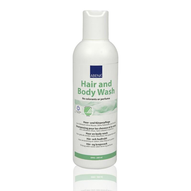 Abena Hair & Body Υγρό για πλύσιμο χωρίς νερό, 200ml
