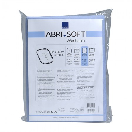 Abena Abri-Soft Πλενόμενο υποσέντονο, 85x90cm, 1τεμ.