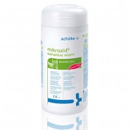 Schülke Mikrozid® Μαντηλάκια απολύμανσης CPAP- BiPAP, χωρίς αλκοόλες, 200τεμ.