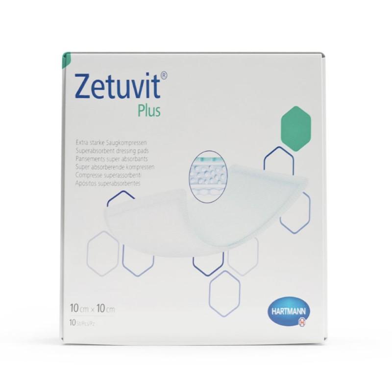 Hartmann Zetuvit plus, Aποστειρωμένο επίθεμα 10x10cm, 1 τεμ.