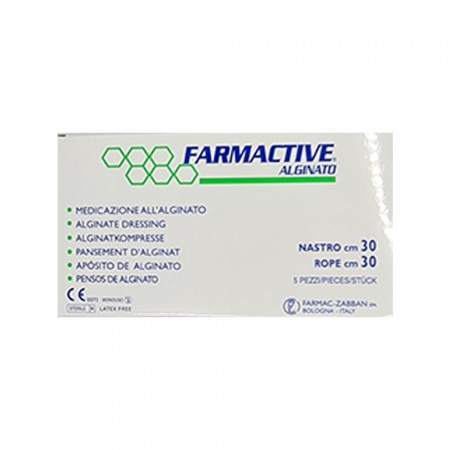 Farmactive Ag Alginato Con Algento, 10X10cm,1 τεμ.
