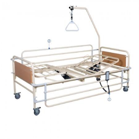 Ηλεκτρικό κρεβάτι KN 200 H πολύσπαστο, σταθερού ύψους