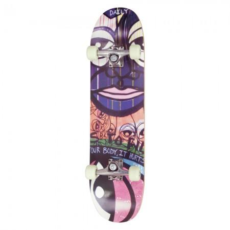 AMILA Skateboard Skatebird+ Tiki, 78,5x20x9